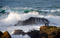 Breakers at Ballintoy, North Antrim Coast